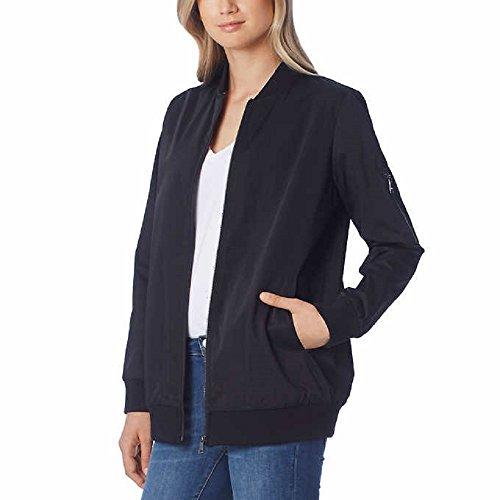 Bernardo Ladies' Bomber Jacket, Black (L)