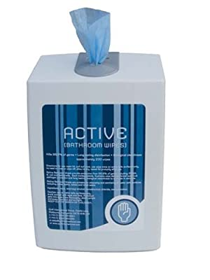 New Active Toilette Paper Box Holder Bathroom Flushable Wipes Refill (200 Wipes) by Only Swim