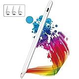 Lápiz para iPad, KINGONE Stylus Pen con Rechazo de Palma, iPad Pencil【Sin Demora/Detección de Inclinación】para (2018-2020) iPad, iPad Mini 5th Gen, iPad Air 3rd/4th Gen, iPad Pro 11 ''/12,9 ''