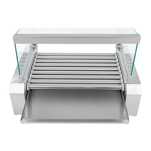 Helloshop26 3614092 Appareil machine à hot dog professionnelle, 1800 W
