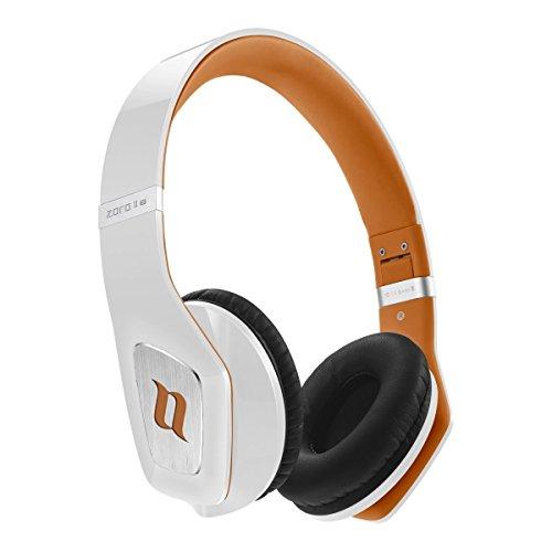 Noontec MF3122(B) Zoro HD II On-Ear-Kopfhörer weiß/orange