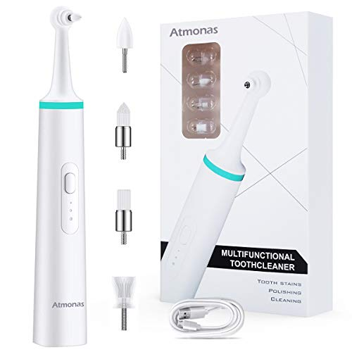 Atmonas Plaque Remover for Teeth, IPX6 Waterproof Electric Tooth Polish, Professional Teeth Cleaning...