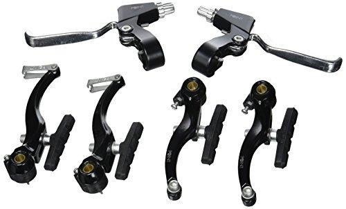 Point Bremsen-Set V für Vorder- und Hinterrad, schwarz-silber, 32006901