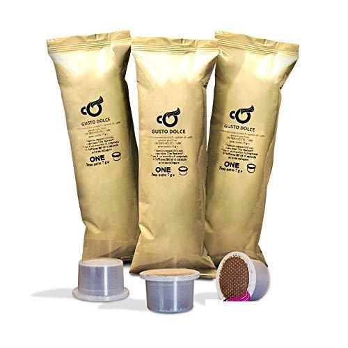 Coffiamo - 150 Capsule Compatibili con Uno System - Gusto Dolce Espresso Bar