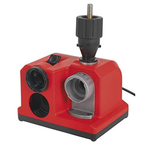 41qa0IXBbzL - YIWUTRADE YTR 85 Watt Bohrerschärfgerät (3-13 mm Metallbohrer, abnehmbares Spannfutter, Diamantscheibe, integrierte Kurvenscheibe)