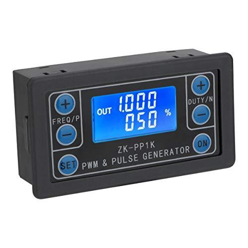 PWM Signal Generator Impuls Rechteck Rechteckig Einstellbarer Signal Generator Dual Mode 1Hz-150KHz Arbeitszyklus 0-100% DC 3,3V ~ 30V für Gleichstrommotor, Schrittmotortreiber und Roboterarm