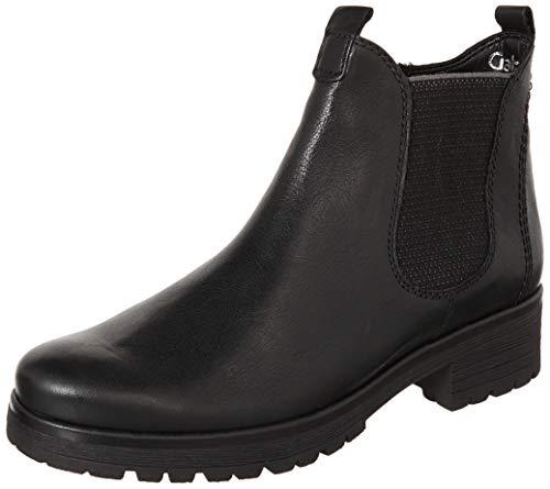 GABOR TREASS Enkellaarzen/Low boots dames Zwart Laarzen