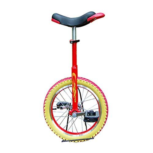 SYCHONG De 18 De Incheskid/Adulto Instructor Monociclo, Bicicletas Equilibrio Carretilla, Neumáticos De Goma Anti-Deslizante Anti-Desgaste De Presión Anti-Gota Anticolisión