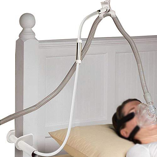 CPAP Hose Holder CPAP-Schlauchhalter Verstellbarer faltbarer Aufhänger zur Verhinderung von Rohrleckagen und Verwicklungen 360 ° Universeller Drehbarer Kugelkopf