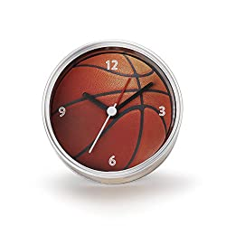 DEMDACO Big Sky Carvers Basketball Clock-n-Can