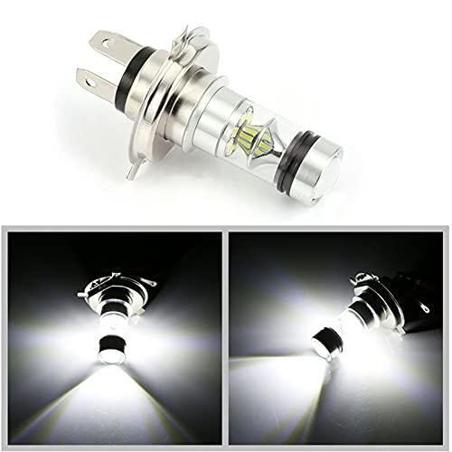 youyu6-2o521 Faros LED 1 2V 24V H4 H7 LED 100W 3030 20SMD 6500K Niebla Luces Super Brillante lámpara Blanca Bombilla Faros para Coche El Ahorro de energía (Emitting Color : White, Socket Type : H7)