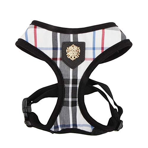Puppia Authentic Junior Harness A, Medium, Black