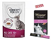 24 x 85g With a special mix of nutrients, vitamins and essential fatty acids, it can help to reduce the effects of aging. It provides your cat with just the right amount of energy and green tea and marigold antioxidants help to protect against cell a...