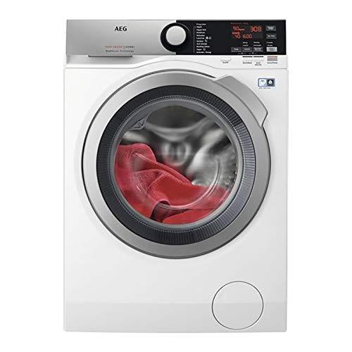 Lavadora secadora - AEG L7WEE962, 9 kg lavado, 6 kg secado, 1600 rpm, A, DualSense, Blanco
