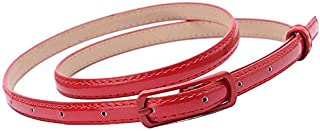 mikibana Radical Red Polyester Belt For Girls