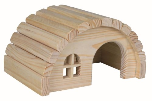 Trixie 61271 Holzhaus, Mäuse/Hamster, 19 × 11 × 13 cm