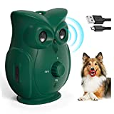 HXWEB PET Bark Control Device, Anti Barking Device, Dog Stop Barking Devices, Newest Ultrasonic Dog Bark Deterrent with 3 Adjustable Volume Levels for Outdoor Indoor