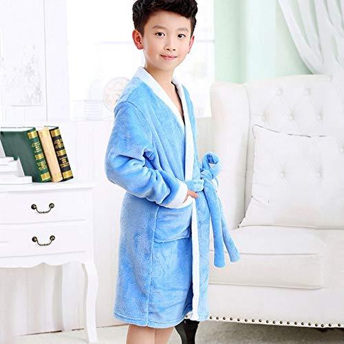 Winter Bad Robe für Kinder Bademantel Fleece Jungen Roben Mädchen Pyjamas Warme...