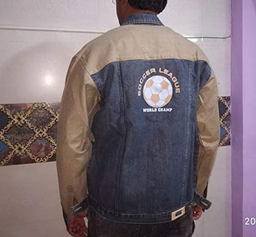 Men Shirts/Jackets Stylish Casual Denim with Long Sleeve from India