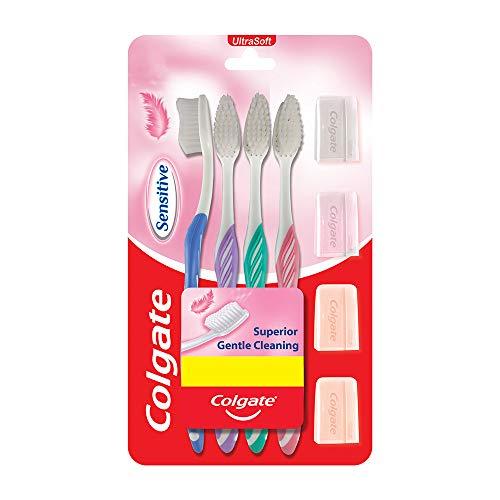 ColgateSensitiveSoftBristlesToothbrush-4Pcs