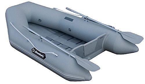 Allroundmarin Angel Jolly GS-255 Light 3 Personen Motorboot Set, Farbe:hellgrau