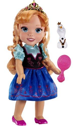 Disney la reine des neiges Anna poupée coiffer brosse - olaf