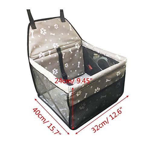 zhuangxiang Nylon Impermeable Viaje 2 en 1 Portador para Perros Plegable Grueso...