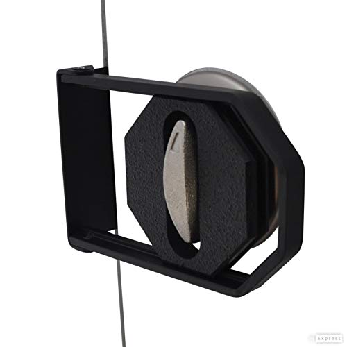 LOKmate Deadbolt Guard Door Lock Security - Magnet Version (Black / Black)