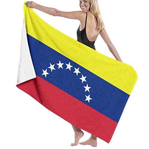 HEHE TAN Venezuelan Flag Printing Bath Towels 32in52in Best Bath Towel Beach Towels for Women, Bath Set Bathroom Accessories