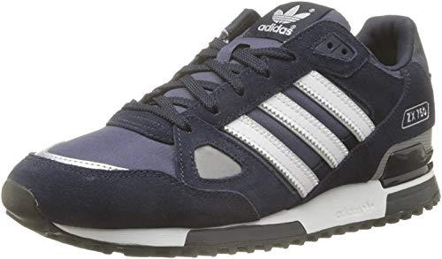adidas Originals ZX 750 Unisex-Erwachsene Sneaker, Blau (New Navy Ftw/White/Dark Navy), EU 42