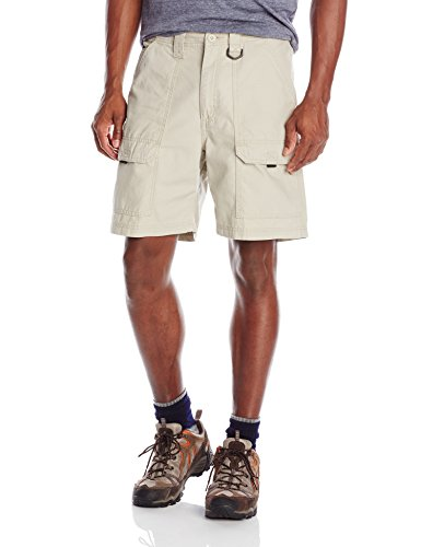 Wrangler Authentics Men's Canvas Utility Hiker Short, Fossil Rock, 38