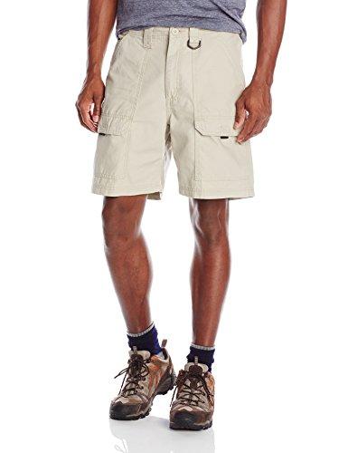Wrangler Authentics Men's Canvas Utility Hiker Short, Fossil Rock, 32