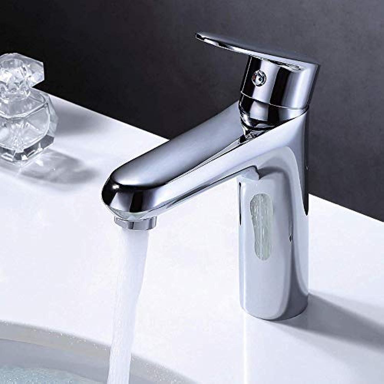 Wasserhahn Kupfer-Becken-Hahn-Waschbecken-Heier Und Kalter Wasserhahn Unter Gegenbassin-Hahn