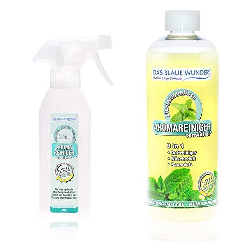 Das Blaue Wunder Aromareiniger 750 ml mit Sprühflasche (Zitronenmelisse)