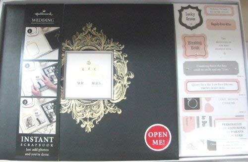 Hallmark Wedding SBK1225 Queen For A Day Instant Wedding Scrapbook