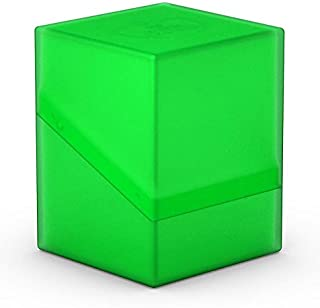 Ultimate Guard ugd010694–Boulder Deck Case, 100Plus, tamaño estándar, Verde Esmeralda