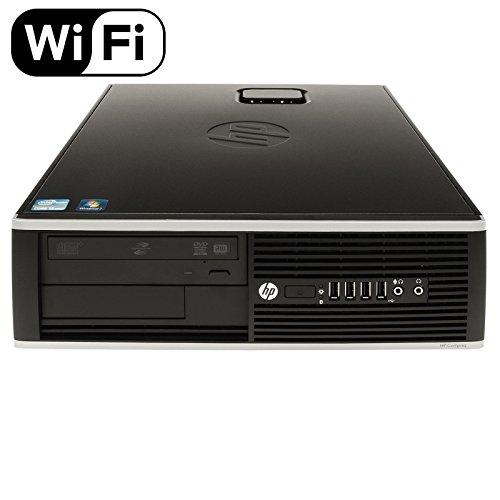 HP Premium Flagship 8200 Small Form Factor Business Desktop (Intel Quad-Core i5 3.1GHz, 8GB DDR3 RAM, 1TB HDD + 240GB SSD, DVD, VGA, DisplayPort, Windows 10 Professional) (Renewed)
