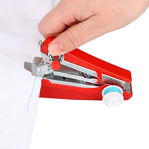 Inicio Viaje Pequeño bordado Operación manual Creativa Mini máquina de coser portátil Herramientas de costura simples