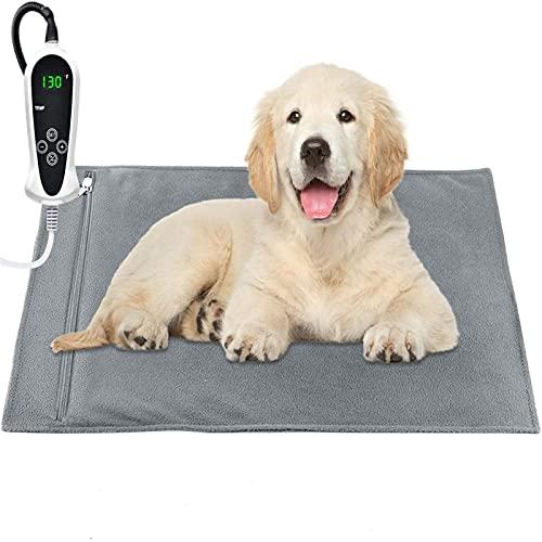 RIOGOO Pet Heating Pad, Upgraded Electric Dog Cat Heating...