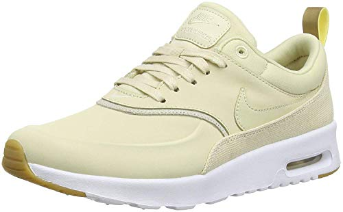 Nike Damen Air Max Thea Premium Sneakers, Mehrfarbig (Beach/Beach/Metallic Gold/Sail 001), 39 EU