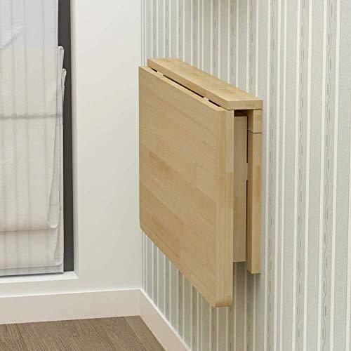 Living Equipment Mesas auxiliares Mesa plegable montada en la pared para interior portátil Escritorio Armario de pared para sala de estar Oficina y dormitorio Mesa de cena temporal (tamaño: 120 * 5