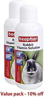 Rabbit vitamin pet vitamin Beaphar RABBIT VITAMINS -100ML Value pack of 2 pcs