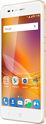 ZTE Blade A612 Smartphone (12,7 cm (5 Zoll) HD IPS Display, 16GB, 13MP Kamera, Android 7.0) gold