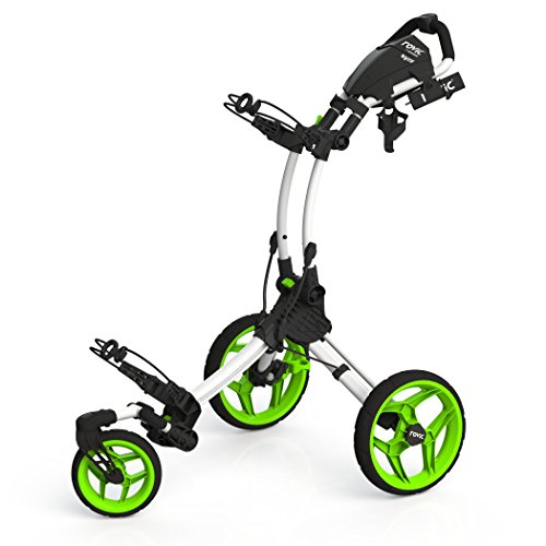 Why Choose Clicgear Rovic RV1S Swivel Golf Push Cart