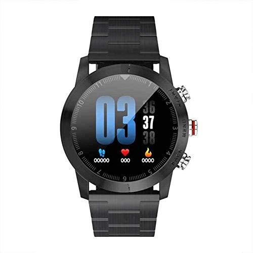 Smart Watch Hombres Mujeres Ip68 Impermeable con Monitor de Sueño Frecuencia Cardíaca Smartwatch Fitness Tracker para iOS Android Exquisite-D-D