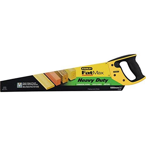 Stanley 515289 FatMax Heavy-duty Handsaw 22-inch