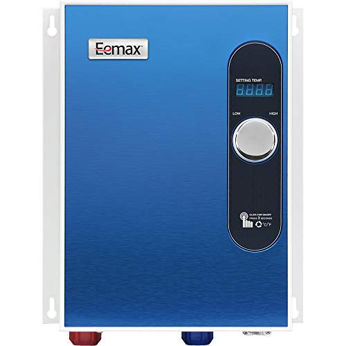 Eemax EEM24018 Electric Tankless Water Heater Blue