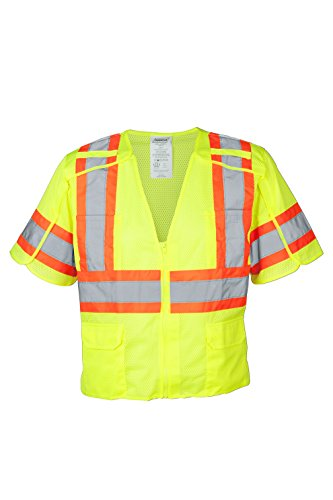 Ironwear 1293BRK-LZ-3-LG Class 3 Vest for Safety