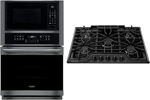Frigidaire 2 Piece Kitchen Appliances Package with FGMC2766UD 27 Electric Double Wall Oven Microwave product image