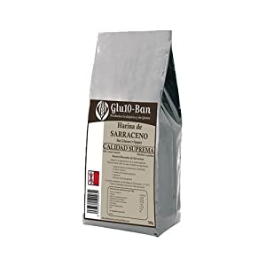 Harina Trigo Sarraceno Sin Gluten 500 Gr de Glu10 Ban
